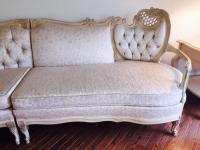 French Provencial Sectional Sofa | Chairish