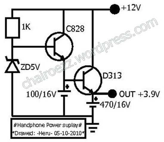diagram komponen hp