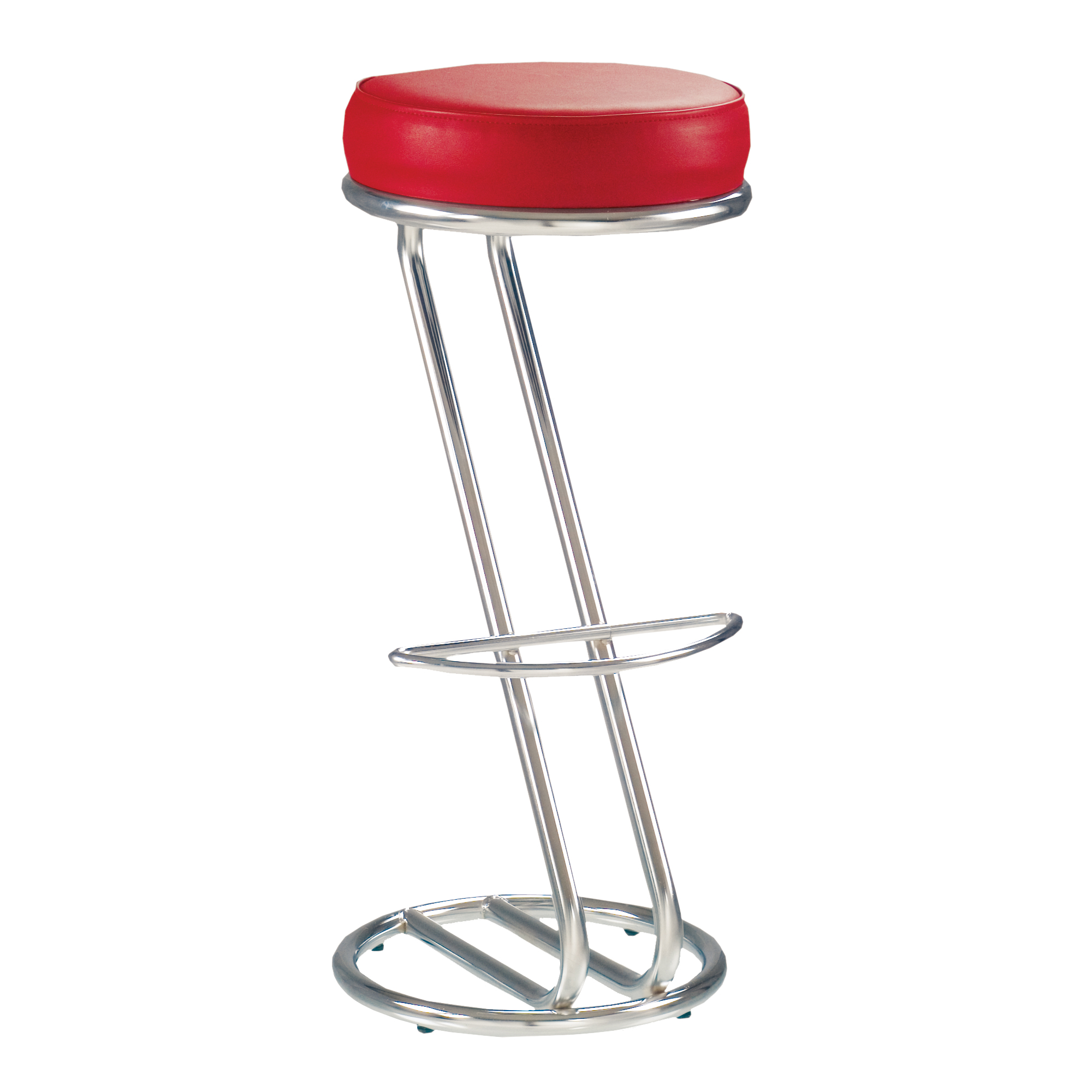 Tabourets Z Lot De 2 Tabourets De Bar Chaise Haute De Bar Zeta Rouge