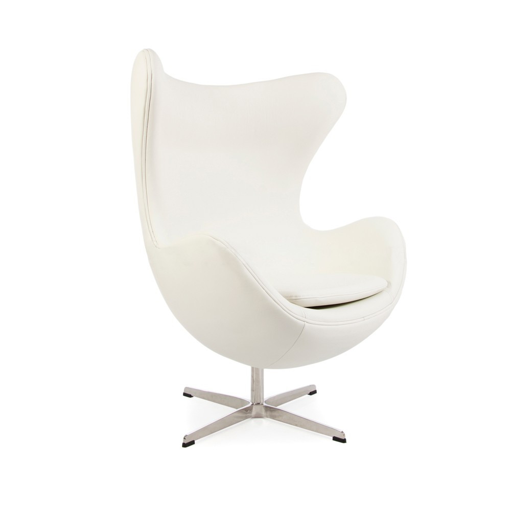 Fauteuil Oeuf Blanc Fauteuil Oeuf En Cuir