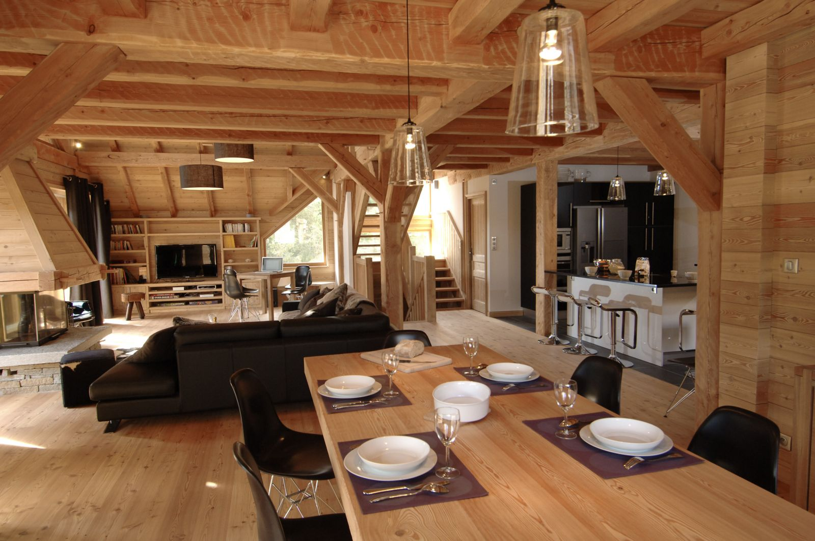 Cuisine Chalet Bois Only The Best Chalets