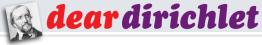 Dear Dirichlet, Issue01