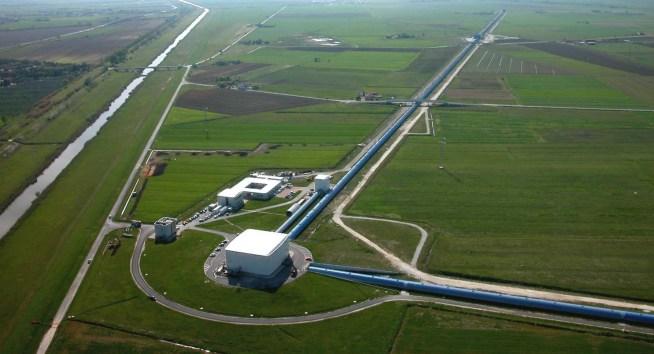 A gravitational wave detector.