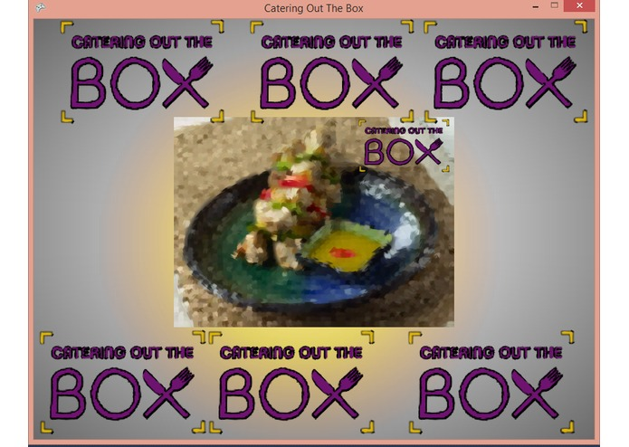 Catering Out The Box Advanced Marketing Solutions Devpost