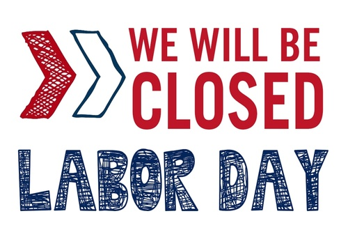 labor day office closed signs xv-gimnazija