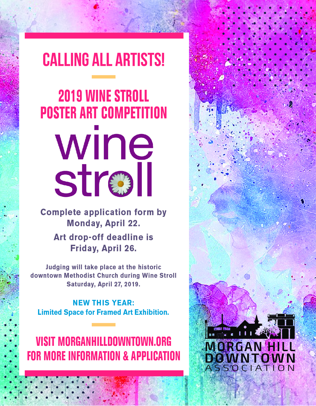 Poster Judging Form 2019 Wine Stroll Art Competition Morgan Hill Downtown