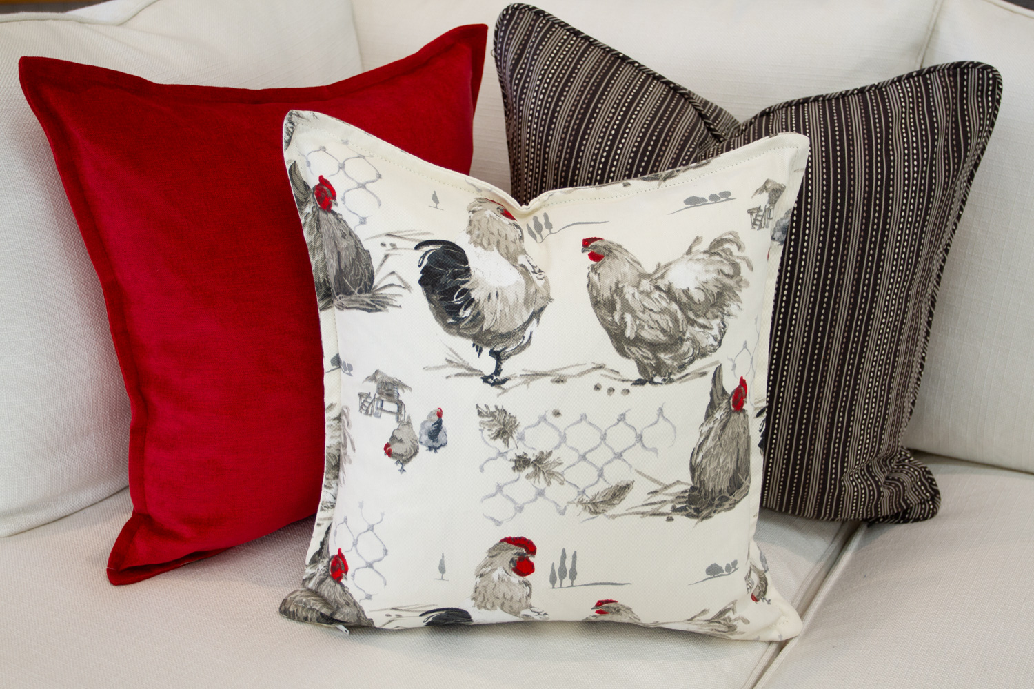 Chameleon Style 12 Days Of Pillows 2018 Rooster Country Day 3 Chameleon Style