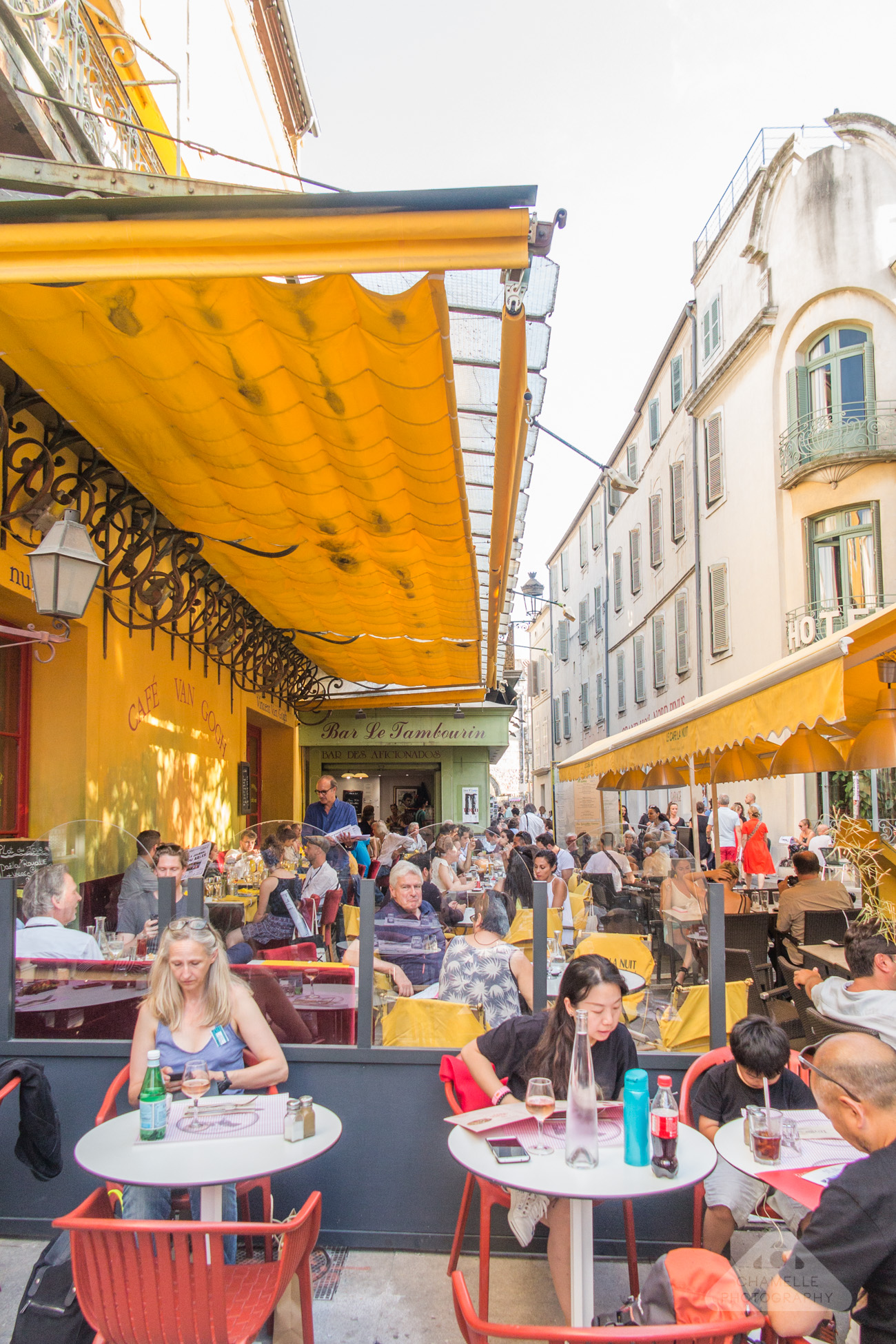 Café Terrasse The Van Gogh Trail In Provence And Paris France Part I