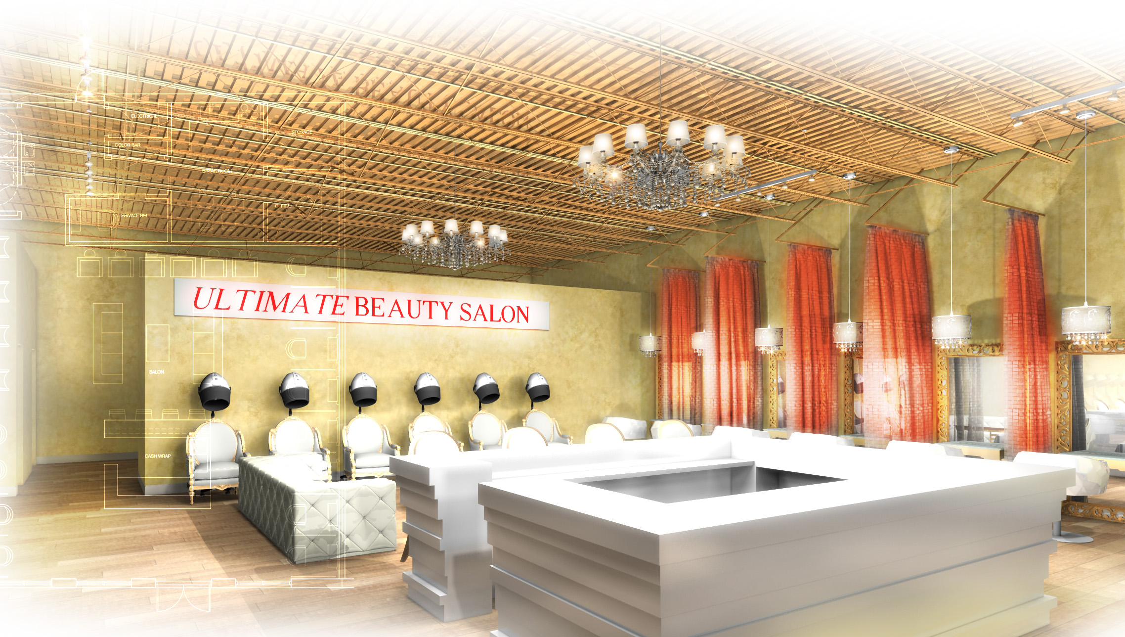 Alter Ego Hair Salon Alter Ego Salon Portfolio Chandlee And Sons Construction