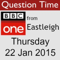 BBC One Question Time From Eastleigh: Thursday 22 January 2015