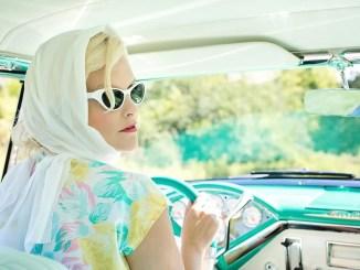 vintage car driver