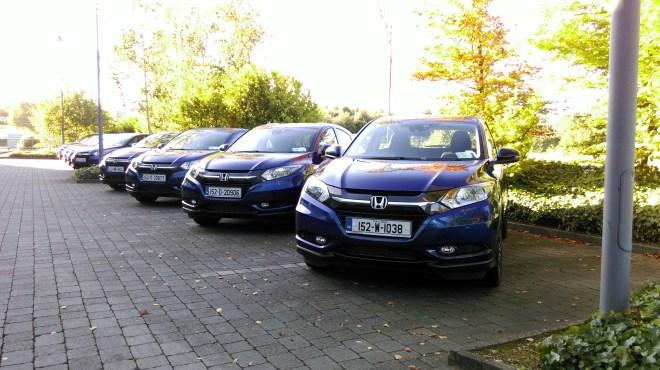 Honda HR-V and Jazz Irish launch review