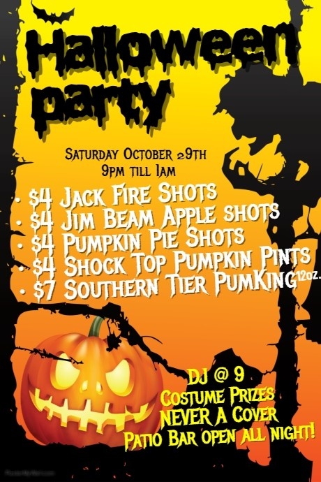 Halloween Bayshore Party