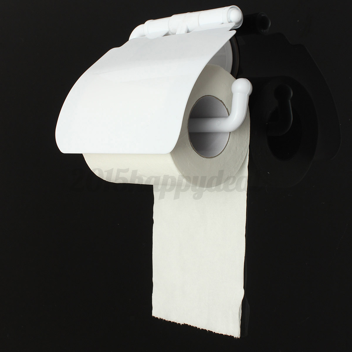 Plastic Toilet Roll Holder Plastic Toilet Paper Roll Tissue Box Sucker Rack Holder