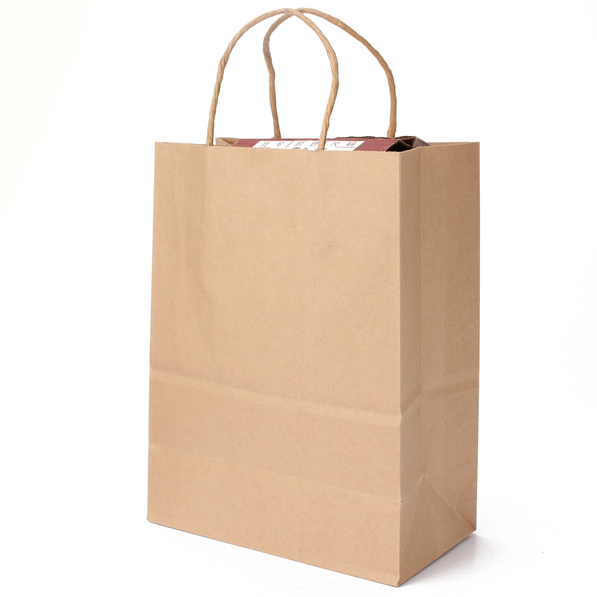 Brown Paper Bags With Handles Kmart 2 50pcs Brown Kraft Twisted Handle Paper Carrier Bags