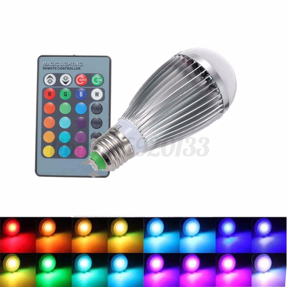 Gu10 C 3w 9w 12w Rgb E27 E14 B22 Mr16 Gu10 Led Light Color