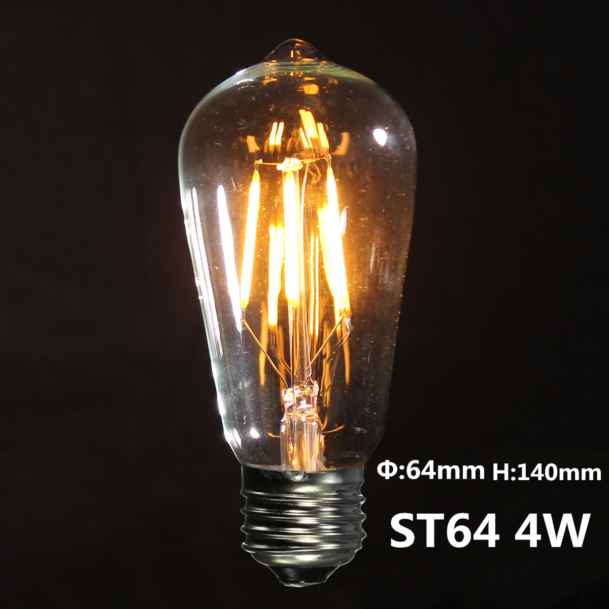 Retro Led E27 E27 Edison Vintage Cob Led Lampe Licht Filament Retro