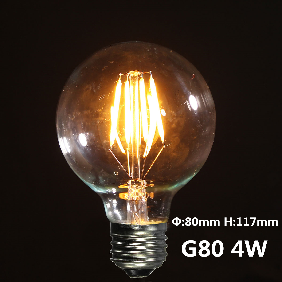 Retro Led E27 2 3 4w E27 Es Cob Led Vintage Antique Edison Style Light