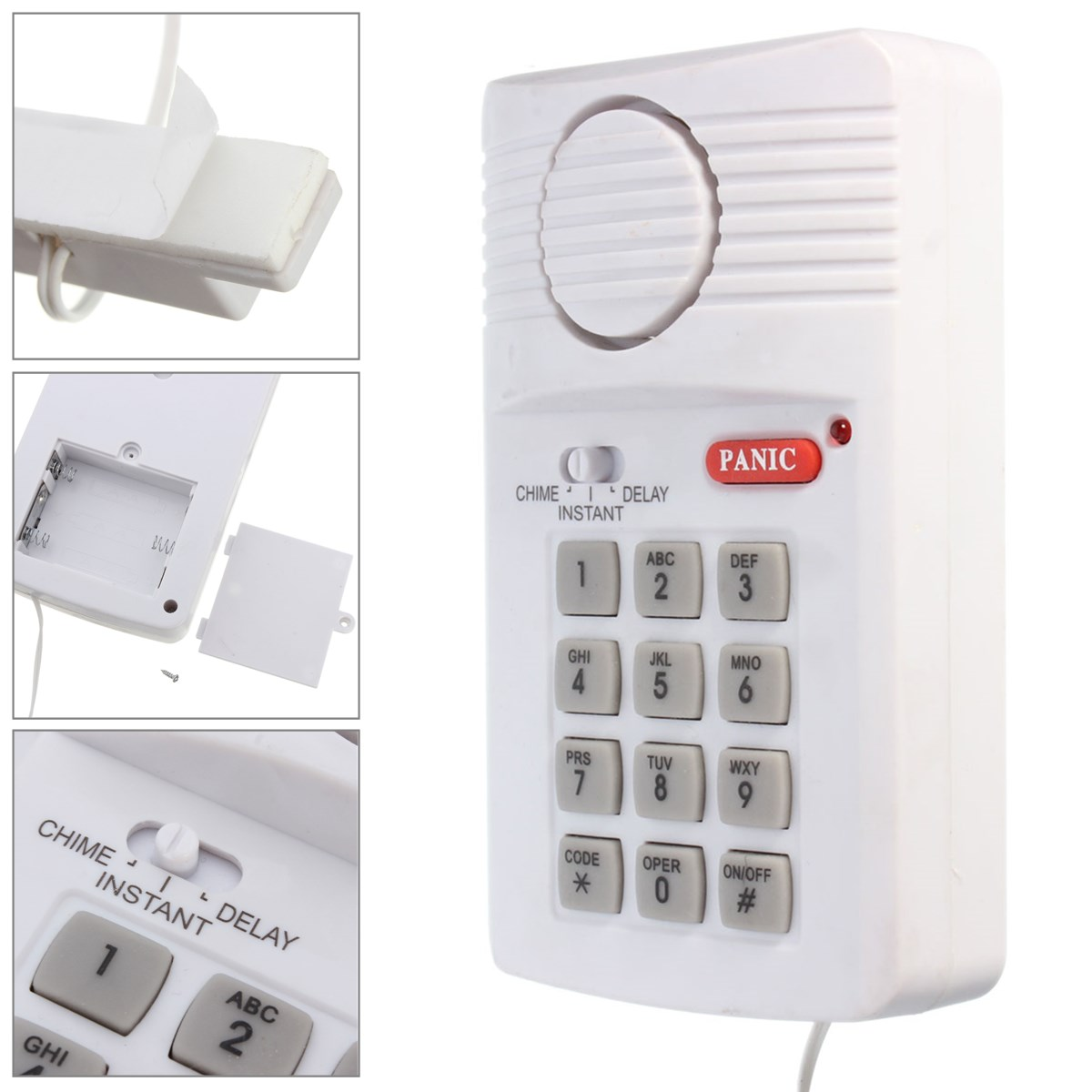 Venta De Sistemas De Seguridad Para El Hogar Wireless Security Keypad Alarm System With Panic Button