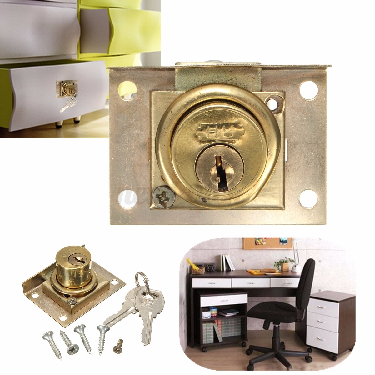 Kitchen Cabinet Cam Locks Cam Lock For Door File Cabinet Mailbox Drawer Cupboard