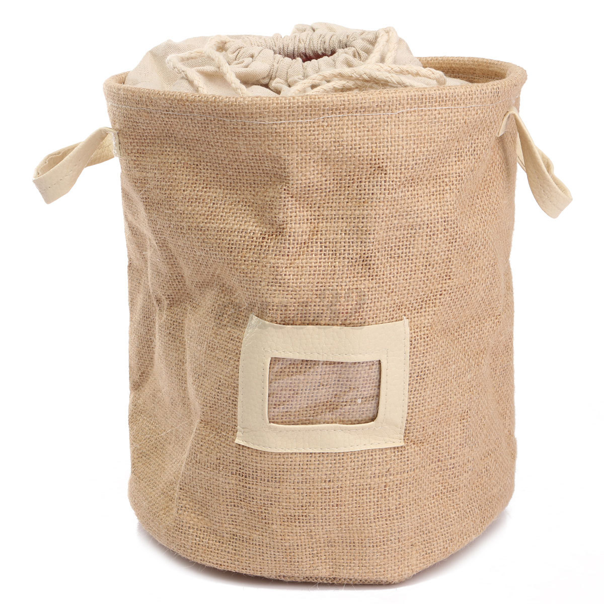 Laundry Clothes Bag Foldable Linen Washing Clothes Laundry Basket Bag Hamper