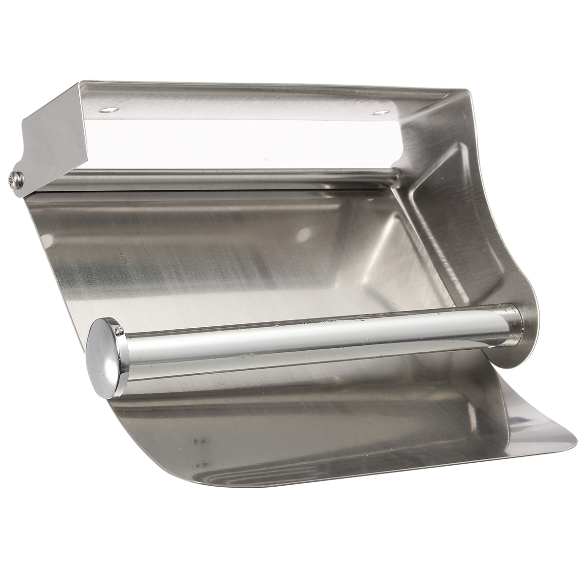 Stainless Steel Toilet Paper Stand Bathroom Stainless Steel Wall Mounted Toilet Paper Holder
