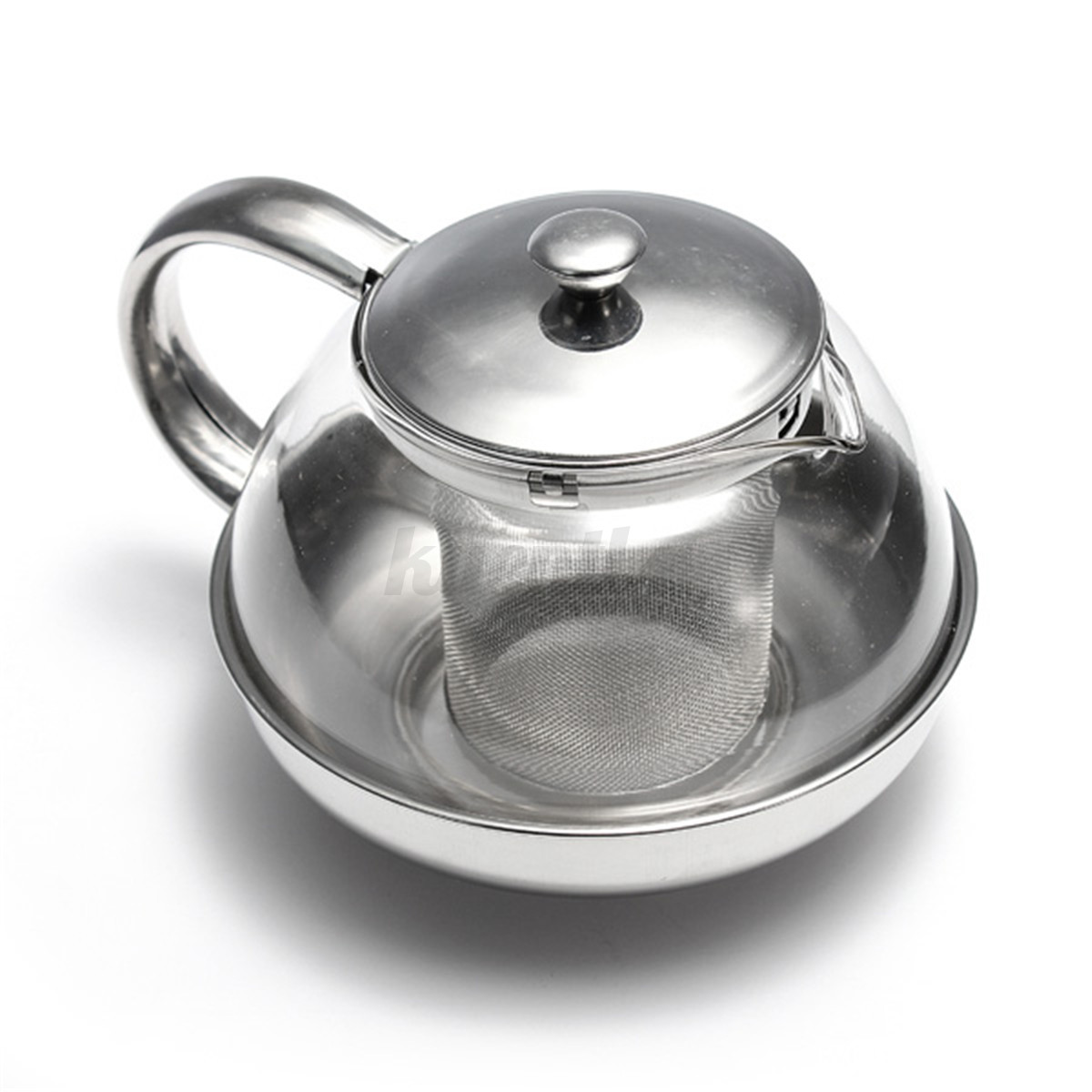 Tea Kettle With Strainer Stainless Steel Glass Teapot Tea Pot Herbal Tea And Leaf