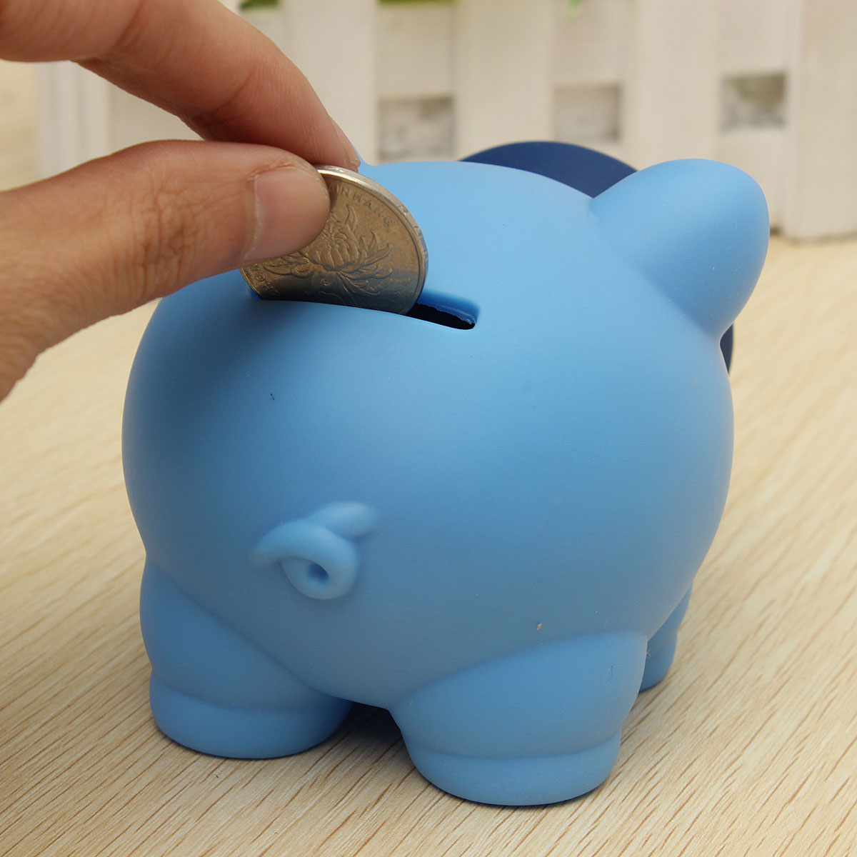 Pink Plastic Piggy Banks Blue Cute Plastic Piggy Bank Saving Cash Coin Money Bank