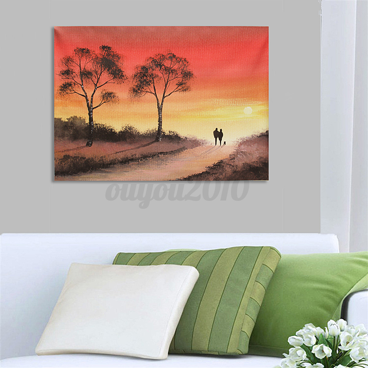 Home Decor Paintings Abstract Modern Oil Painting Art Unframed Canvas Print