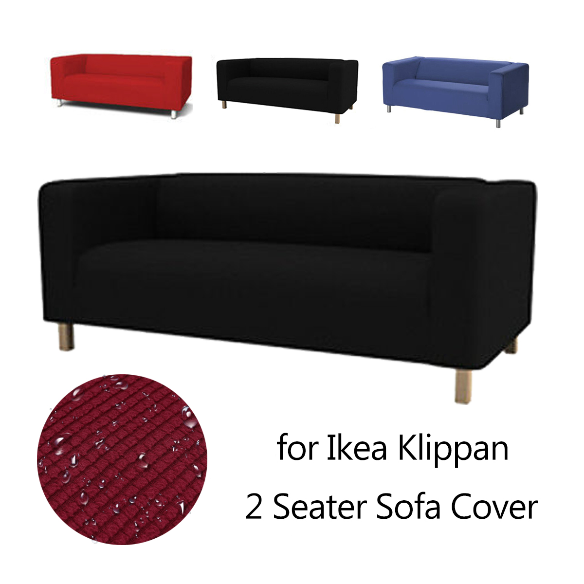 Ikea Sofa Klippan Details About Slipcover For Ikea Klippan 2 Seater Sofa Couch Cover Throw Loveseat Chair Cotton