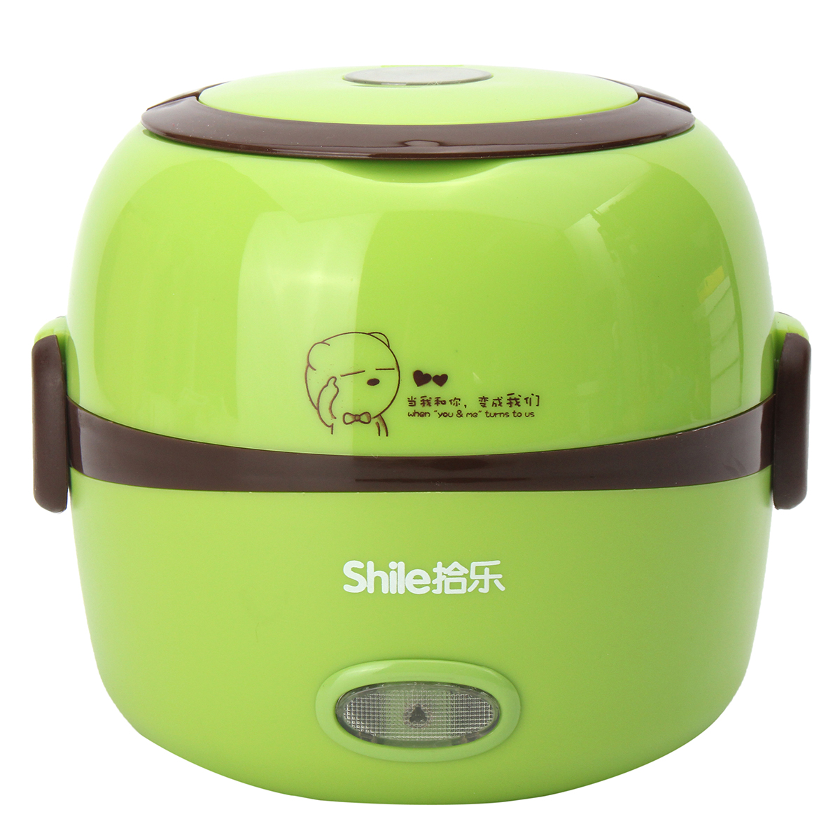 Electric Cooker Portable 1 3l Electric Portable Lunch Box Rice Cooker Steamer 2