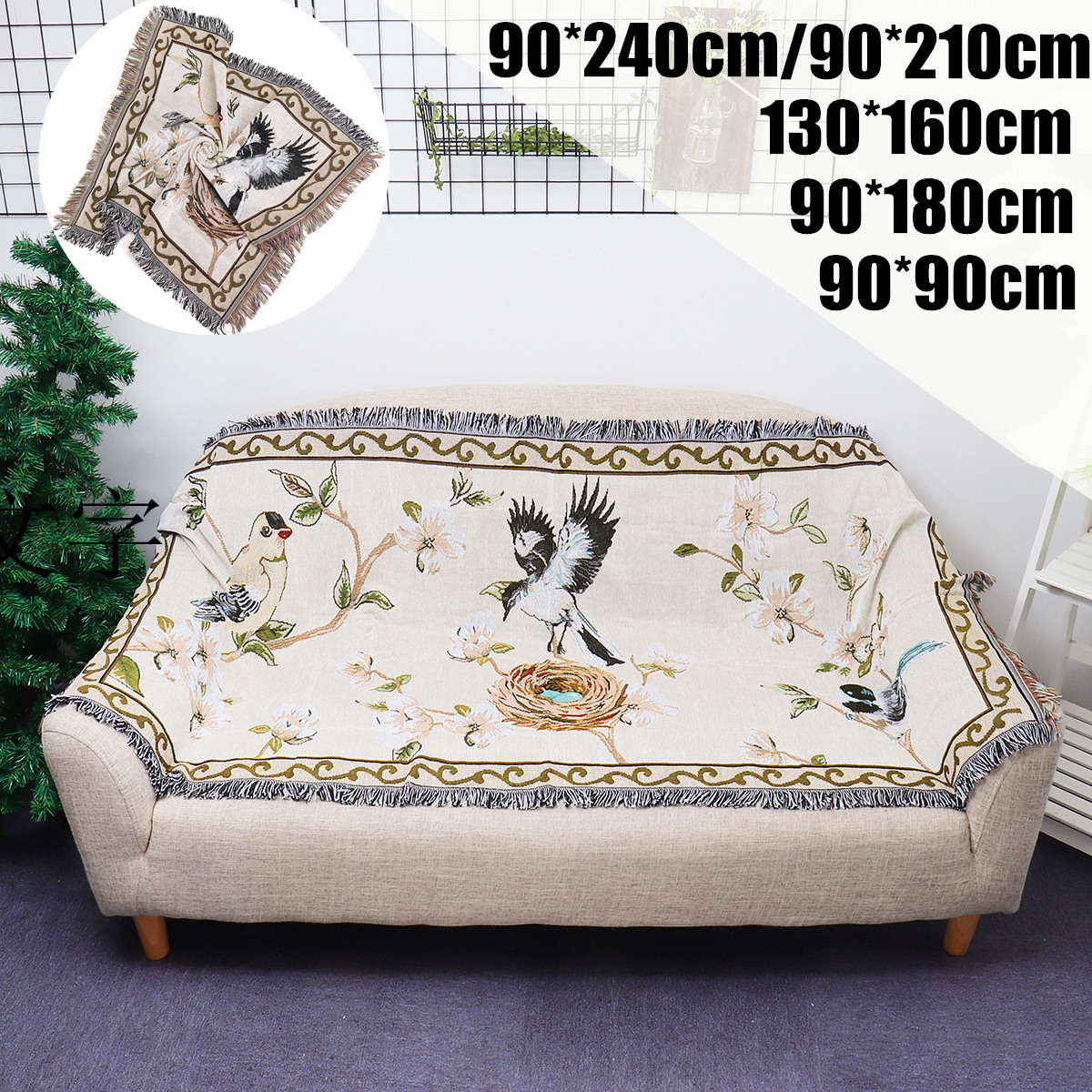 Lounge Throw Details About Bohemian Bird Boho Sofa Throw Rug Couch Lounge Sofa Chair Blanket Bed Sheet Home