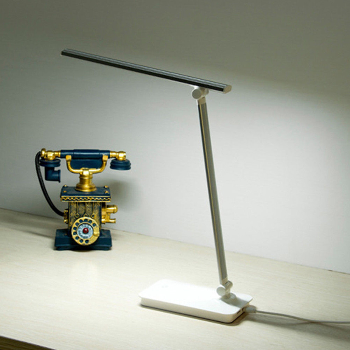 Study Table Light Led Dimmable Desk Lamp Table Light Usb Eye Care Bedside