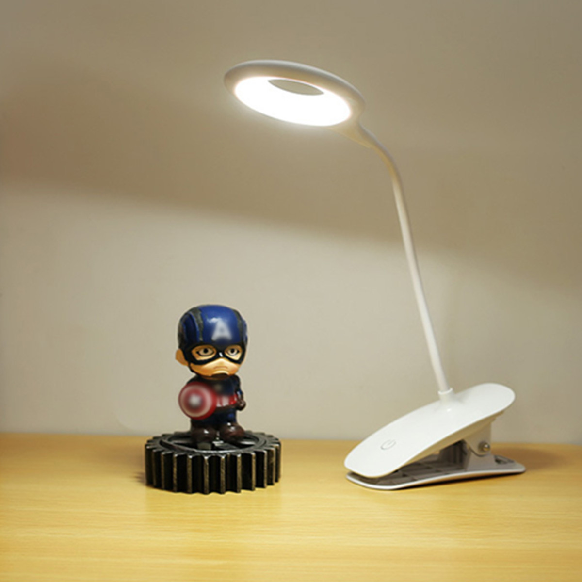Clip On Bed Lamp Details About Portable Rechargeable Led Lights Flexible Clip On Bed Desk Table Reading Lamp