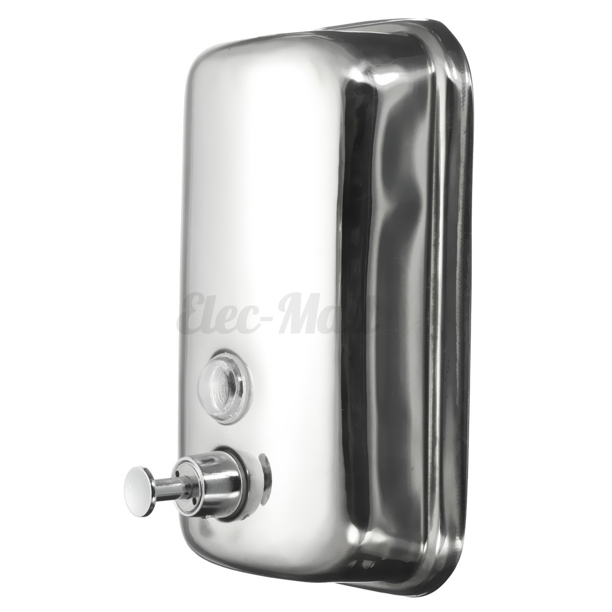 Metal Soap Dispenser Pump Stainless Steel Wall Mount Pump Action Liquid Shampoo Box