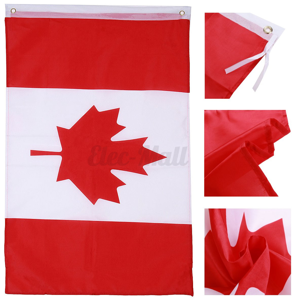 Store Banne 3x2 50 3x2 39 Canadian Flag Maple Leaf Outdoor Polyester Canada