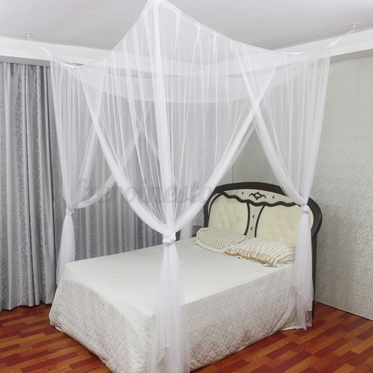 4 Post Canopy Bed 4 Post Poster Bed Canopy Four Corner Mosquito Insect Bug