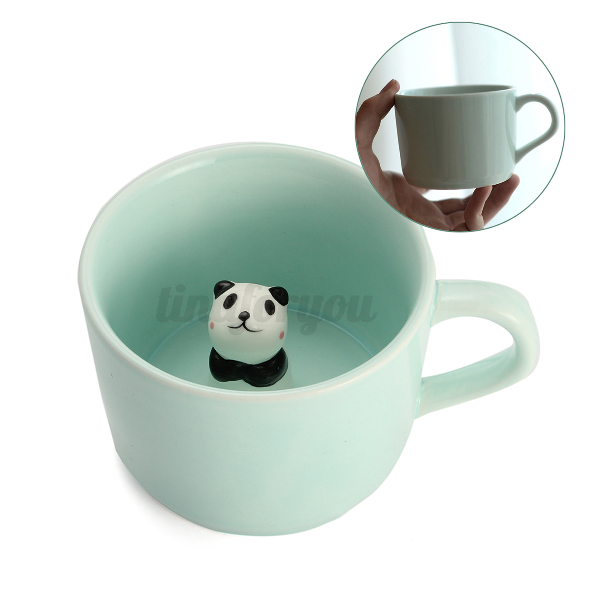 Animal Coffee Mug 3d Cute Sculpted Animal Milk Cup Mug Ceramic Heat