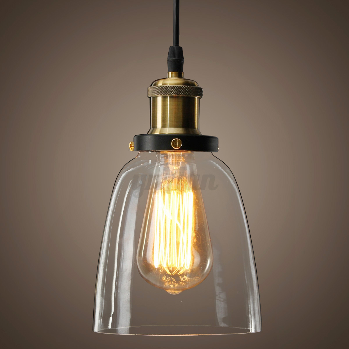 Modern Vintage Lights New Glass Modern Vintage Industrial Retro Loft Ceiling