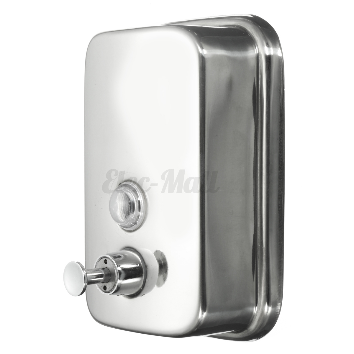 Soap Dispenser Holder Wall Mounted Stainless Steel Wall Mount Pump Action Liquid Shampoo Box