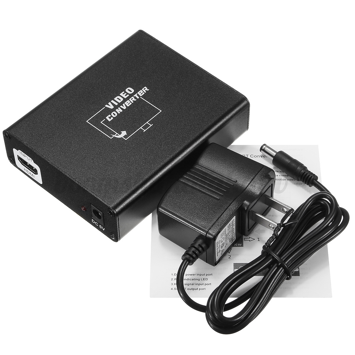 Hdmi Naar Scart Adapter Hdmi To Scart Composite Video Converter Stereo Audio