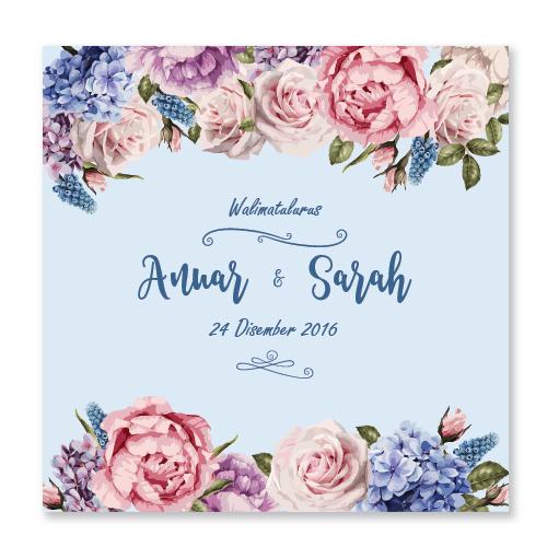 Kad Kahwin Floral 39