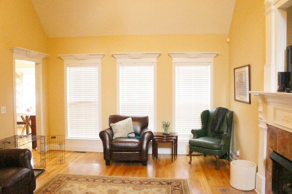 How To Hang Curtain Rods On Windows With Decorative Molding