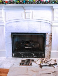 Fireplace Marble Surround Replacement | Shapeyourminds.com