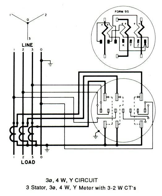 delta metering wiring diagram