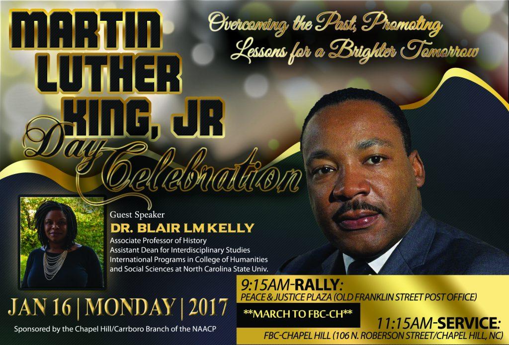 Martin Luther KIng Day Celebration 2017 - Chapelboro