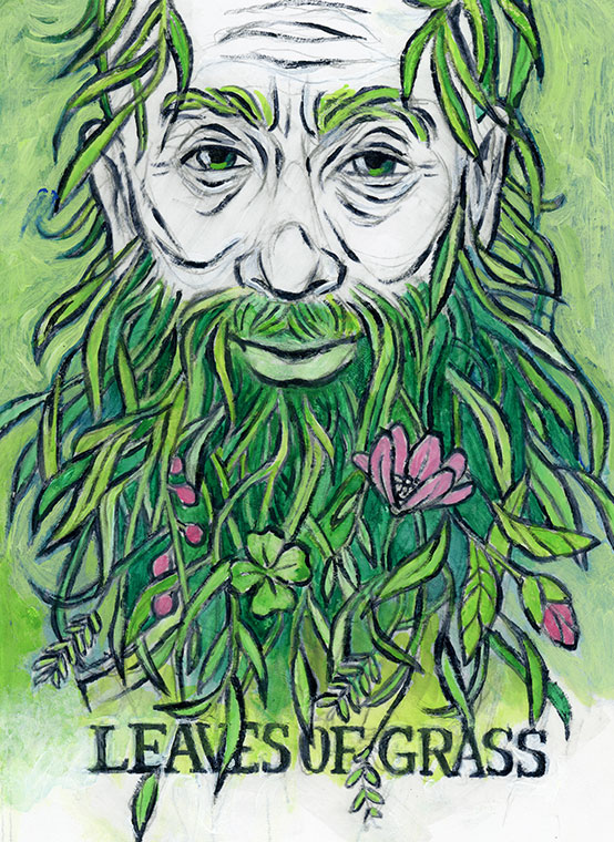 Chapel Hill Public Library Banned Books Project -Leaves of Grass Walt Whitman