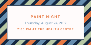 Community Paint Night @ Health Centre