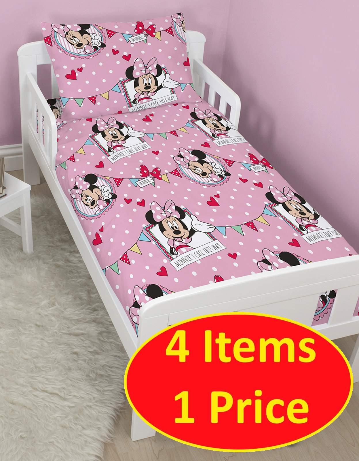 Minni Maus Bettwäsche | Disney Bettwäsche Minnie Und Mickey Mouse Im ...