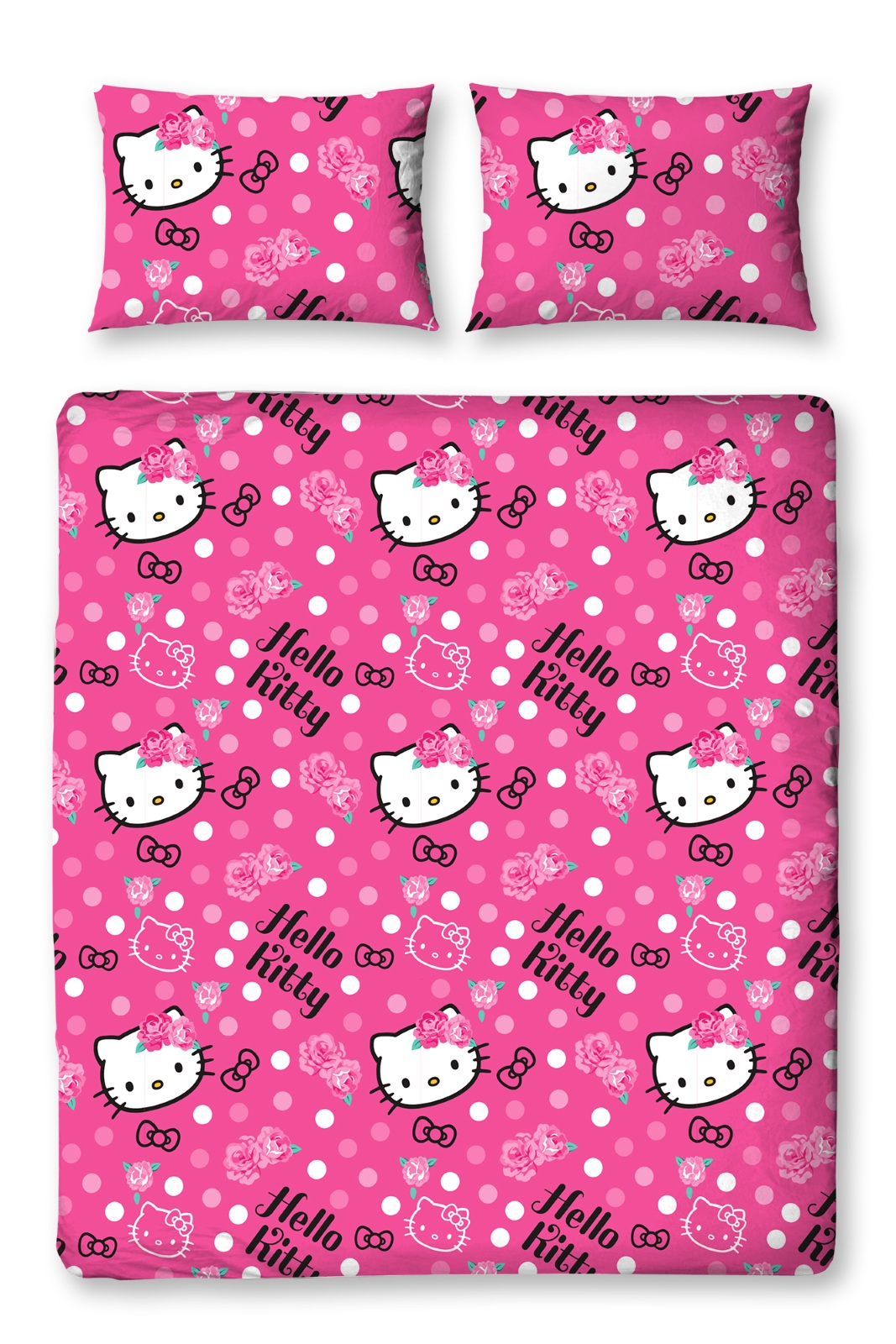 Hello Kitty Bettwäsche Hello Kitty Sommerwind Doppelbett Bettbezug And Kissenbezug